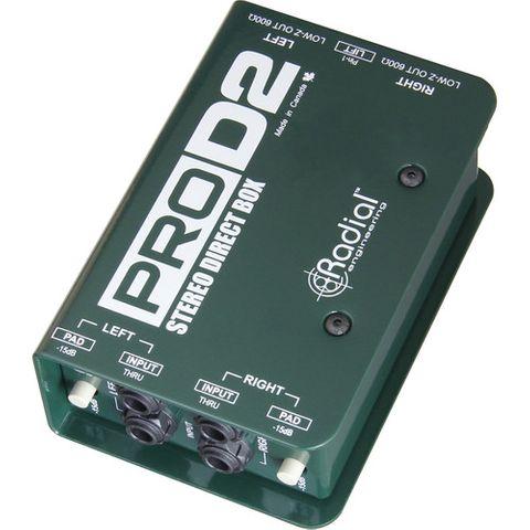 Radial PRO-D2 Stereo Passive DI