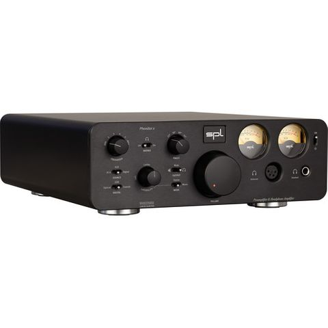 SPL Phonitor X-Headphone Amplifier and Preamplifier (Black)