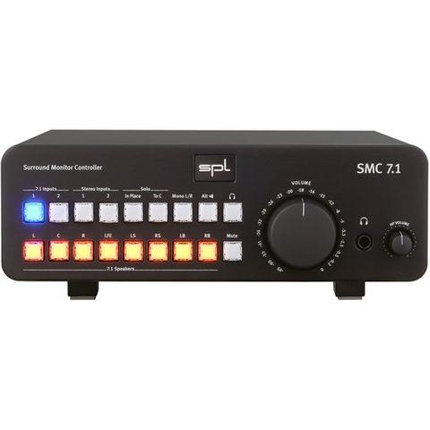 SPL SMC 7.1 Surround Monitor Controller (Black)