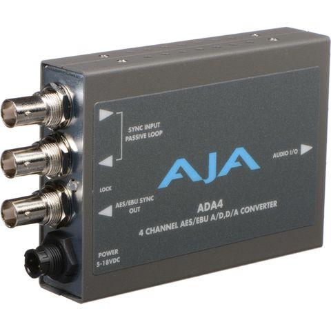 AJA 4-Channel Bi-Directional Audio A/D & D/A Converter