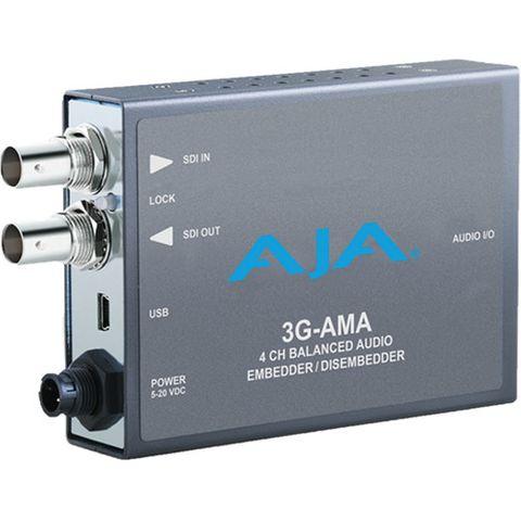 AJA 3G-AMA SDI 4-Channel Analog Audio Embedder/Disembedder