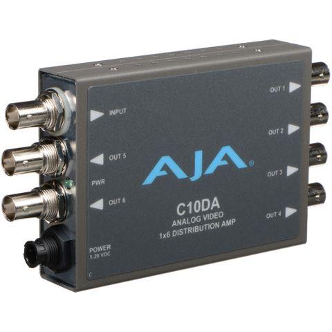 AJA C10DA Analog BNC 1x6 Distribution Amplifier