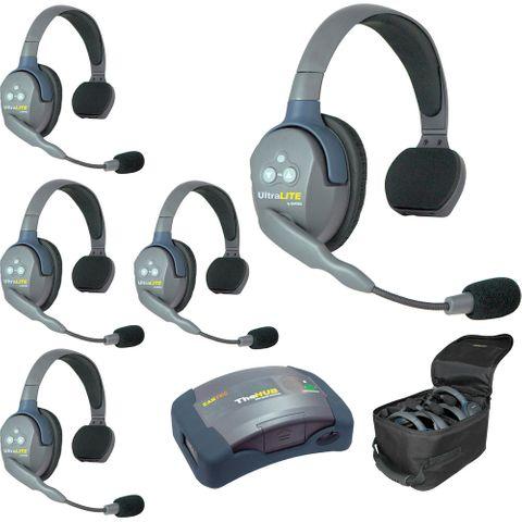 Eartec HUB5S UltraLITE 5-Person HUB Intercom System