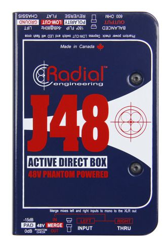 Radial J48 - Single Channel Active Direct Box