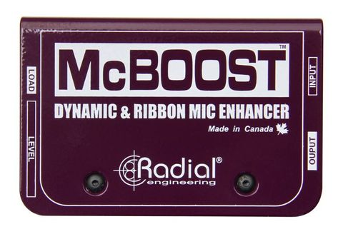 Radial McBoost Microphone Signal Intensifier