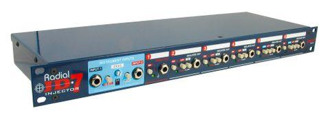 Radial JD-7 - 1x7 Guitar Signal Distribution Amplifier