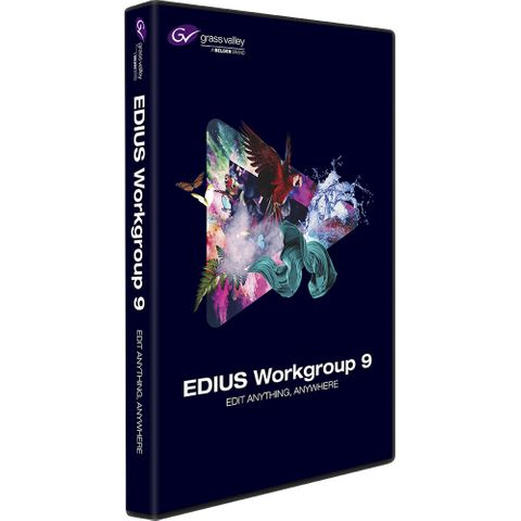 Grass Valley Edius Workgroup 9 Non-linear editing software