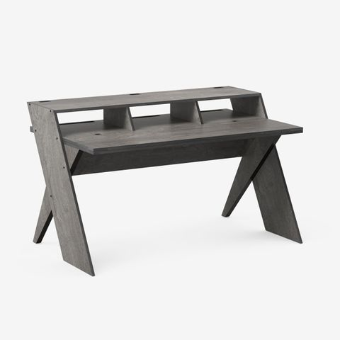Output Platform Studio Desk (Driftwood Grey)