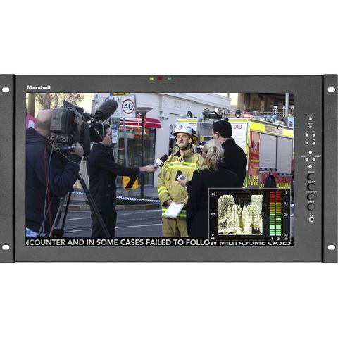 "Marshall 17.3"" Full HD Rackmount Monitor - HDMI"