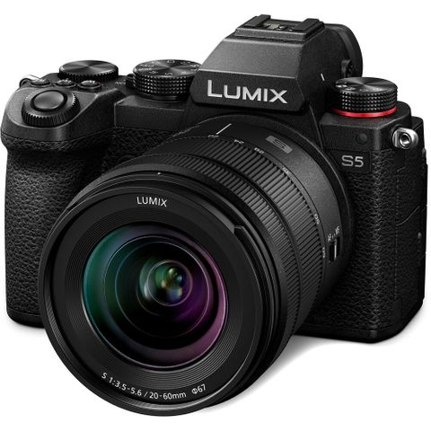 Panasonic Lumix DC-S5 with 20-60mm Lens