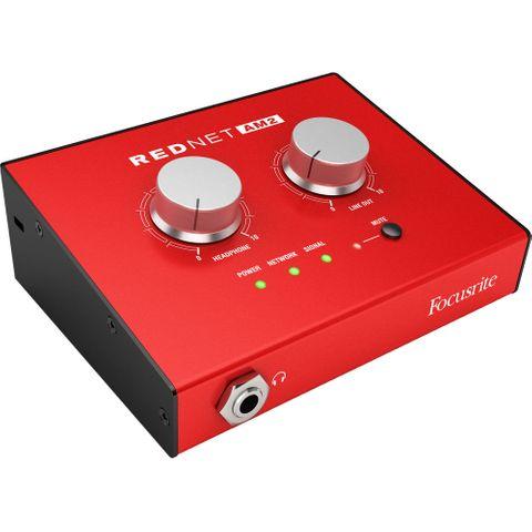Focusrite Pro - REDnet AM2 Dante Stereo Monitor Unit