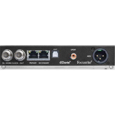 Focusrite ISA ADN2 Two-Channel A-D Card for ISA One