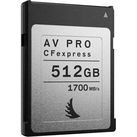 Angelbird 512GB AV Pro CFexpress 2.0  Memory Card
