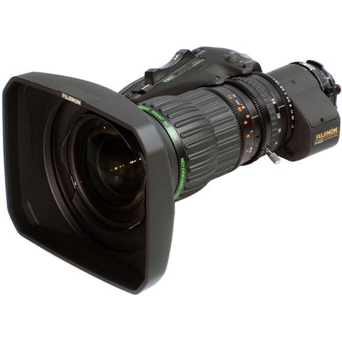 Fujinon HA14x4.5BERM ENG Style Lens with Servo Zoom/Doubler