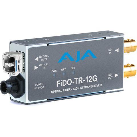 AJA 1-Channel 12G-SDI/LC Single-Mode LC Fiber Transceiver