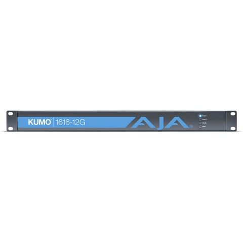 AJA KUMO 1616 Compact 12G-SDI Router (1 RU)