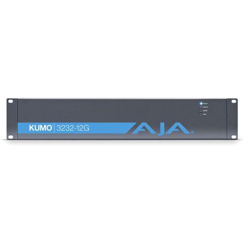 AJA KUMO 3232-12G Compact 12G-SDI Router (2 RU)