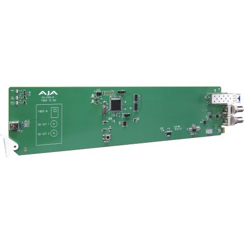 AJA OG-FiDO-R openGear 1-Channel Single LC Fiber to 3G-SDI