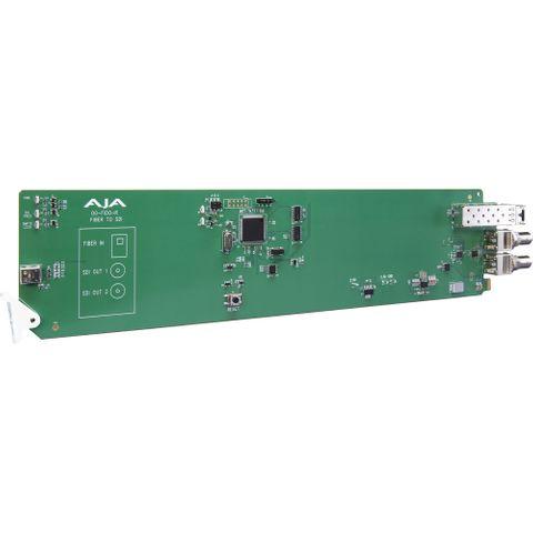 AJA OG-FiDO-R-MM openGear LC Fiber to 3G-SDI Receiver