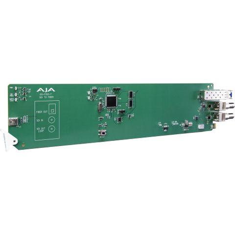 AJA OG-FiDO-T openGear 1-Channel 3G-SDI LC Fiber Transmitter