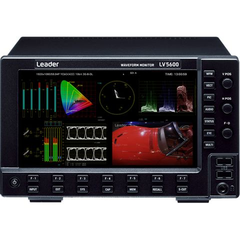 Leader LV-5600 Waveform Monitor - SDI and IP Signals