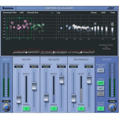 Sonnox Oxford DeClicker - Plug-in (Native, Download)
