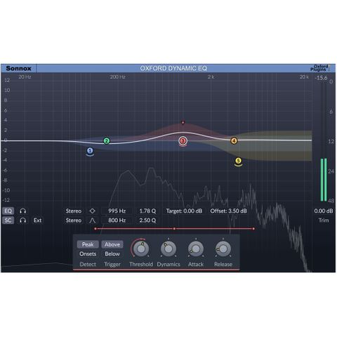 Sonnox Dynamic EQ - Plug in (HD & HDX, Download)