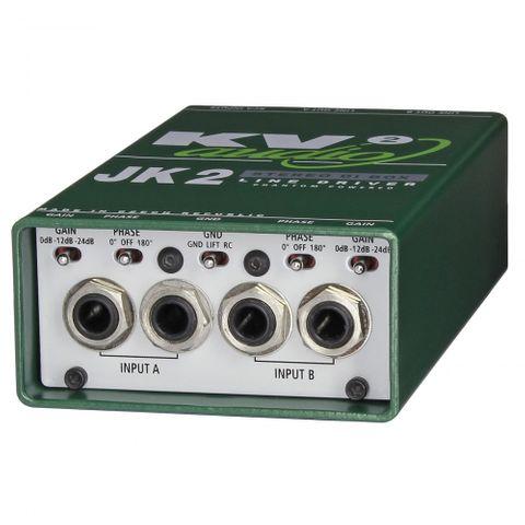 Kv2 Audio - JK2 - Stereo DI BOX - Line Driver