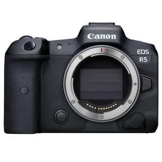 Canon EOS R5 Mirrorless Digital Camera Body + RF Adapter