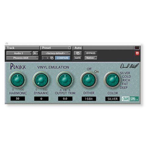 Crane Song Peacock - Vinyl Emulation