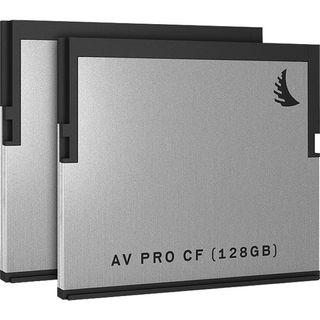 Angelbird 128GB AV Pro CF CFast 2.0 Memory Card x2