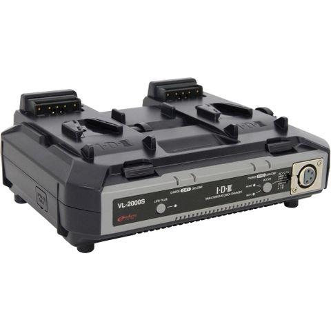 IDX VL-2000S 2-Channel Simultaneous Quick Charger