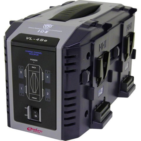 IDX VL-4SE 4-Channel Lithium-Ion Battery Charger (V-Mount)