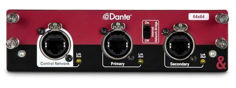 Allen & Heath Dante Audio Interface Card for dLive & Avantis