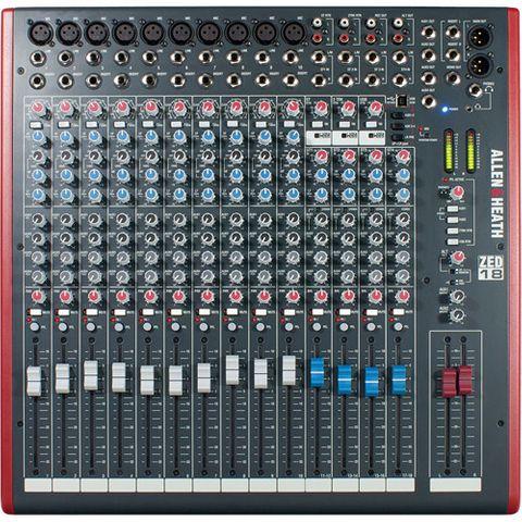 """Allen & Heath ZED18 19"""" Rack Mixer"""