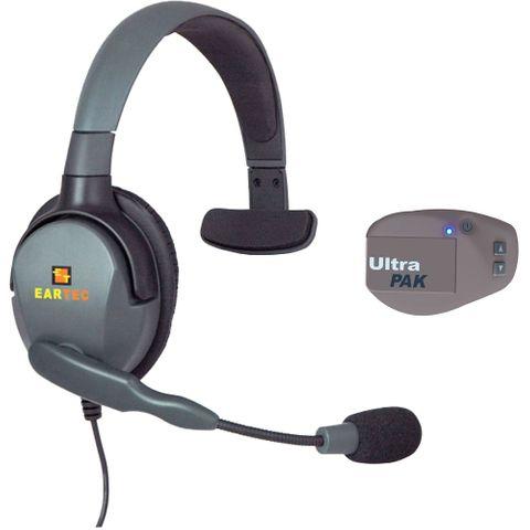 Eartec UltraPAK c/w Battery & Max 4G Single Headset