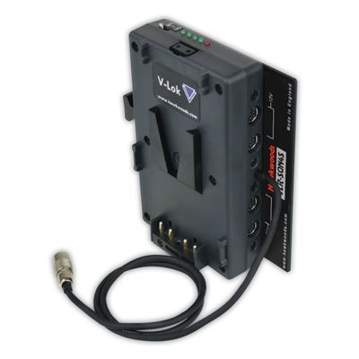 HawkWoods VLR-SQN4S V-Lok to SQN Cable Power Adaptor