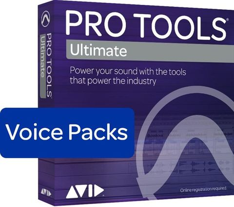 Avid 128 Voice Pack - Annual Subscription Paid Up Front