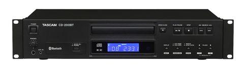 Tascam CD 200BT CD Player with Bluetooth - 1RU