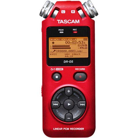Tascam DR05 LTD ED Red Digital Recorder
