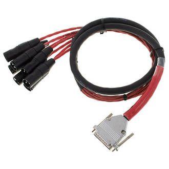 Avid DigiSnake DB25-XLRM Output - 4'