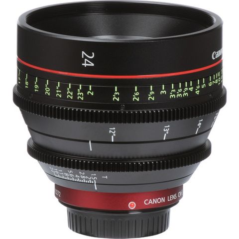 Canon CN-E 24mm T1.5 L F EF-Mount Cinema lens