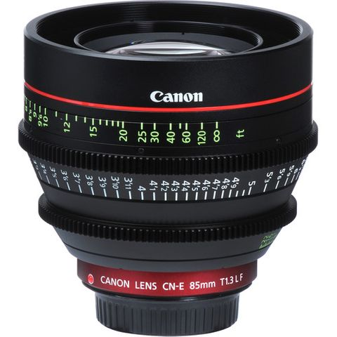 Canon CN-E 85mm T1.3 L F EF-Mount Cine Lens