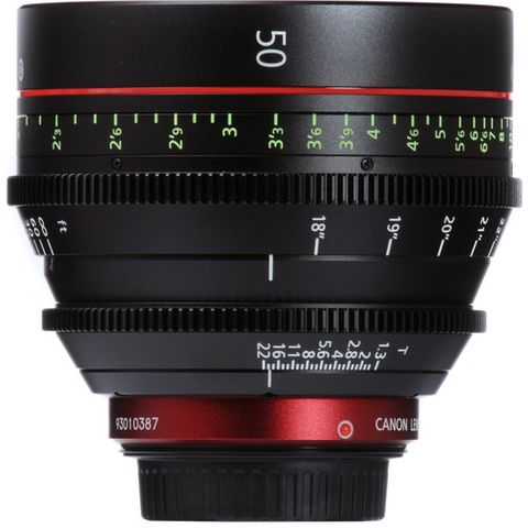 Canon CN-E 50mm T1.3 L F EF-Mount Cinema Lens