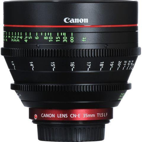 Canon CN-E 35mm T1.5 L F EF-Mount Cinema Lens