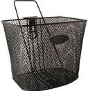 Basket Black W/stay22x29x24cm