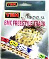 Chain 1/2x3/32 BMX Hollow Gold