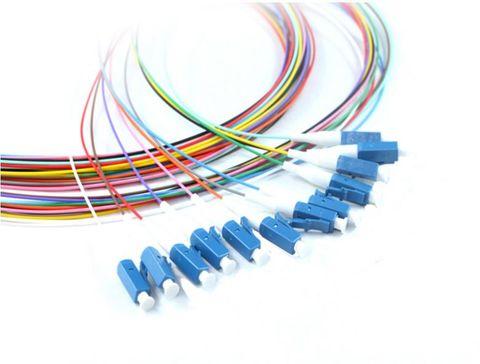 2m LC OS2 Singlemode pigtails fibre - 12 pk