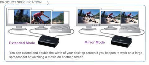 USB 3.0 to HDMI and DVI/VGA dual output