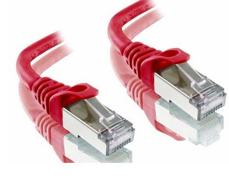 Cat6A LSZH STP Alogic RED